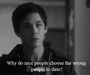 quote, logan lerman, and text image