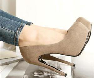 girl, heels, and fashion image