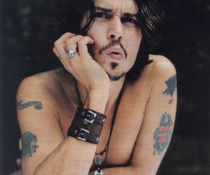 johnny depp, sexy, and tattoo image