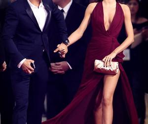 miranda kerr, dress, and couple image