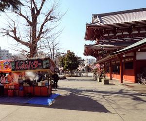 asia, japan, and asakusa senso-ji temple image
