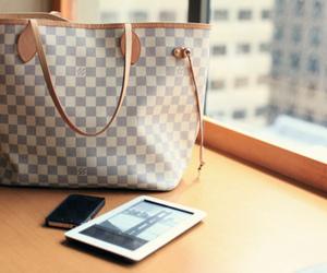 bag, Louis Vuitton, and ipad image