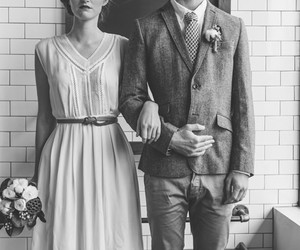 couple, vintage, and boy image