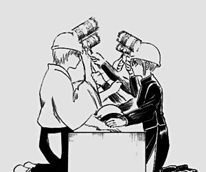 gintama, kagura, and manga image