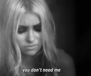 Taylor Momsen, you, and sad image