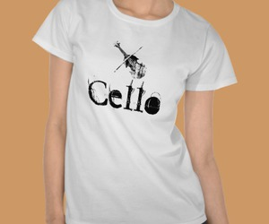 black, cello, and instrument image