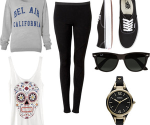 clothing, outfit, and Polyvore image
