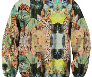 cat, hippie, and cats image