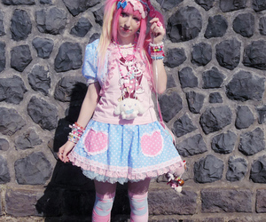 bows, colorful, and fashion image