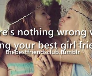 best friends, loving, and nothing image