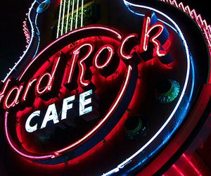 hard rock cafe, cafe, and hard rock image