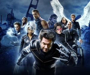 storm, cyclops, and movie image
