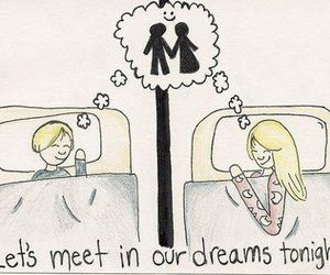 Dream, love, and couple image