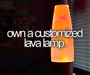 bucket list, lava lamp, and before i die image
