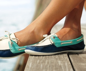 shoes, blue, and girl image