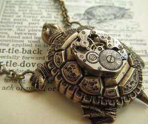 turtle, necklace, and cute image