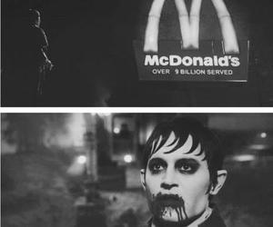 dark shadows, johnny depp, and vampire image