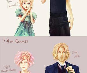 the hunger games, haymitch, and effie image