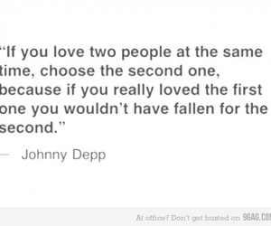 love, quotes, and johnny depp image