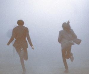 run, boy, and grunge image