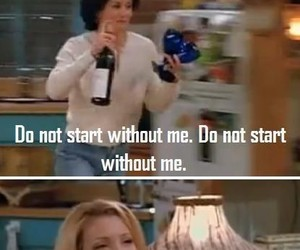 friends, funny, and woman image