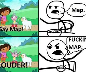 Dora, funny, and lol image