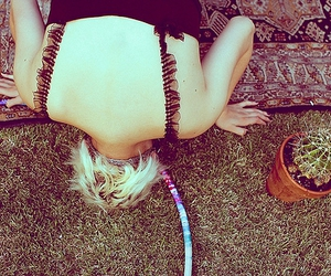 grass and hulahoop image