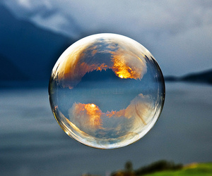 bubbles and nature image