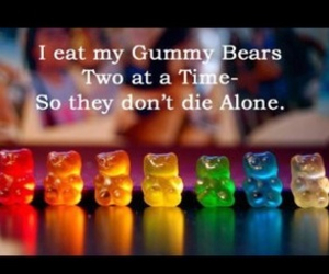 bears, candy, and colorful image