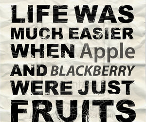 apple, blackberry, and life image