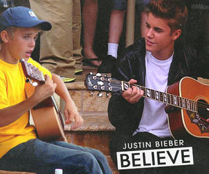 justin bieber, kidrauhl, and believe image