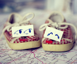 shoes, cute, and eyes image