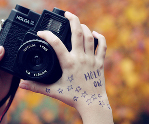 camera, photography, and hold on image
