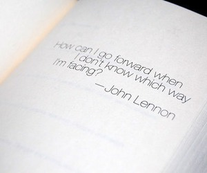 quote, john lennon, and text image