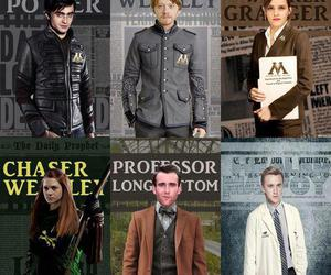 harry potter, draco malfoy, and neville longbottom image