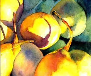 water color fruit image