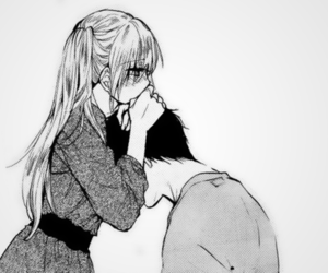 couple, manga, and love image