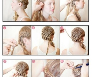 beauty, hairstyle, and tutorials image