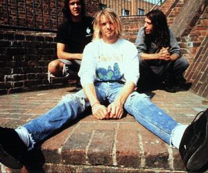 nirvana, grunge, and kurt cobain image