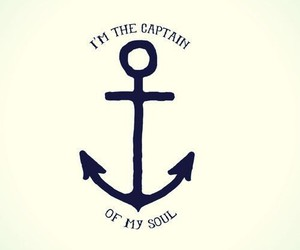 anchor, soul, and captain image