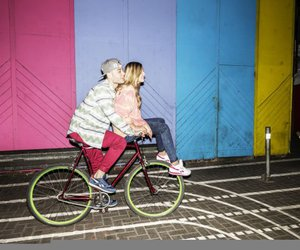 bike, colour, and famous image