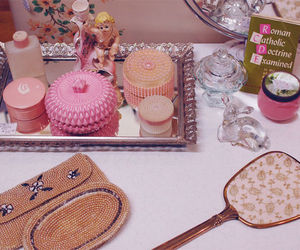 accessories, pink, and cute image