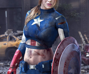 Miss America, alison brie, and lady avengers image