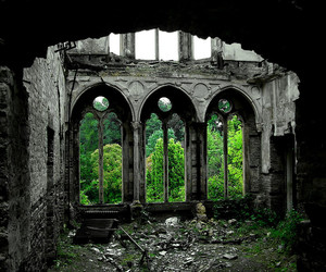 nature, abandoned, and place image