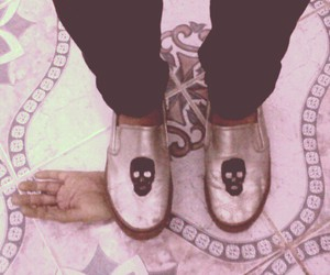 death, shoes, and vintage image