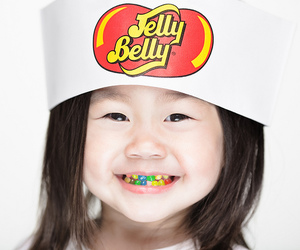 girl, kids, and jelly beans image