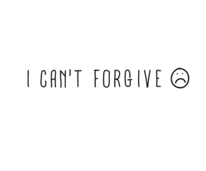 cry, forget, and forgive image