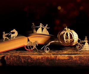 book, cinderella, and fairytale image