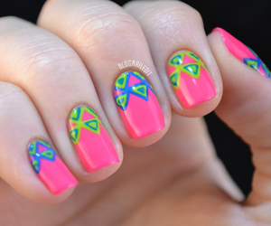 nails, awesome, and girly image