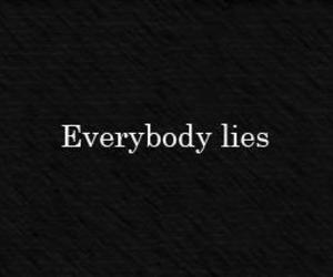 lies, everybody, and quotes image